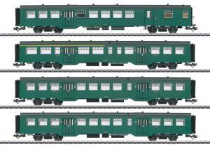 Märklin 43546 Belgiskt Personvagnset (SNCB/NMBS) Överraskningsvagnset 2020 Förboka ditt exemplar