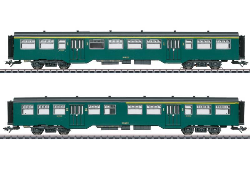Märklin 43547 Belgiskt Personvagnset (SNCB/NMBS) Nyhet 2021 Förboka ditt exemplar