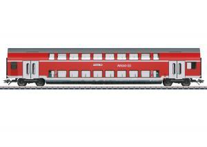 Märklin 43568 Personvagn  ( DB AG ) type DBza 751.0 bi-level vagn, 2nd class Nyhet 2021 Förboka ditt exemplar