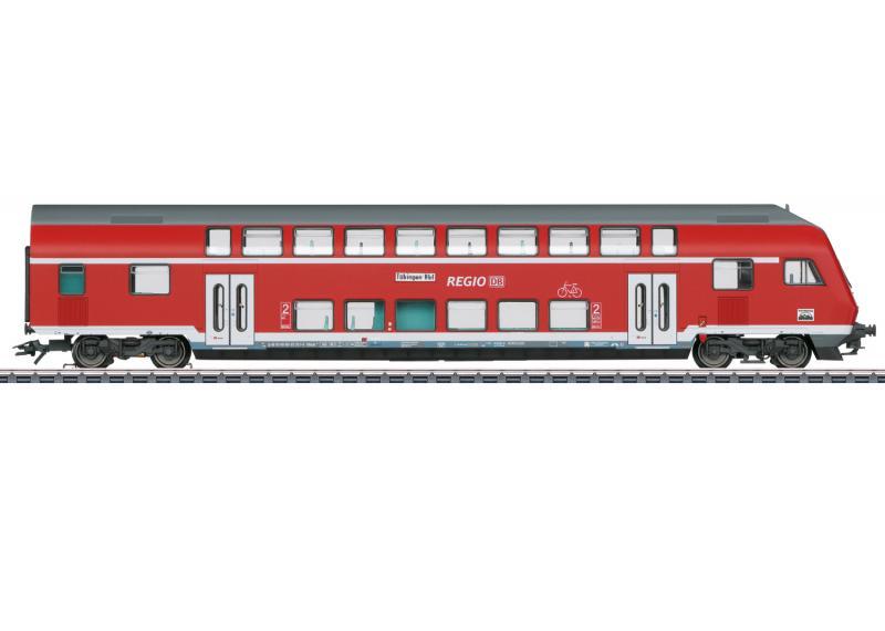 Märklin 43569 Styrvagn / Personvagn ( DB AG ) type DBbzfa 761 2nd class Nyhet 2021 Förboka ditt exemplar