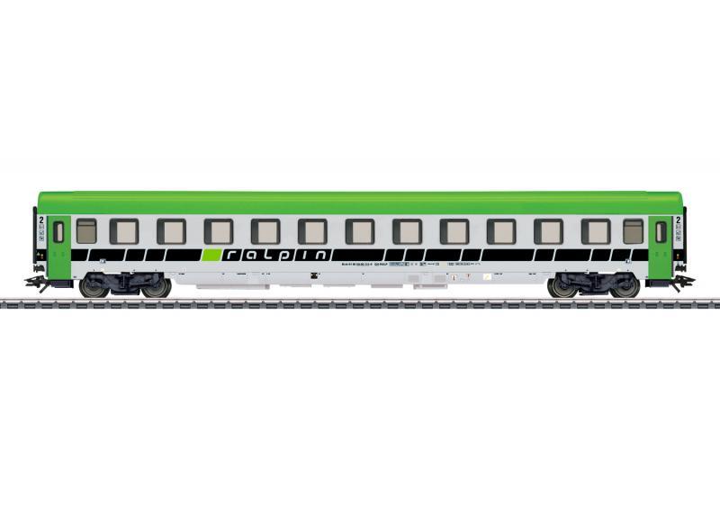Märklin 43613 Schweiziskt personvagn Bmz passenger car, 2nd class Nyhet 2020 Förboka ditt exemplar