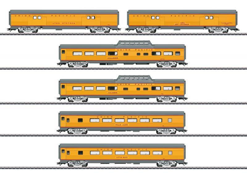 Märklin 43617 Vagnset Union Pacific Railroad (U.P.) Nyhet 2020 Förboka ditt exemplar