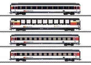Märklin 43651 Personvagnset (SBB/CFF/FFS) Nyhet 2020 Förboka ditt exemplar