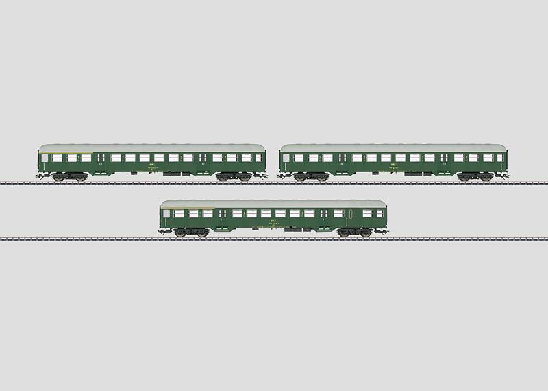 43813 Vagnsats med lokaltågsvagnar (CFL)