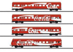 Märklin 43890 Personvagnset (DB AG) S-Bahn cars with Coca Cola® Nyhet 2020 Förboka ditt exemplar