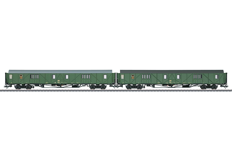 43993 Bagagevagnset Type MDyg 986 till Bagagevagn 43992 Nyhet 2016