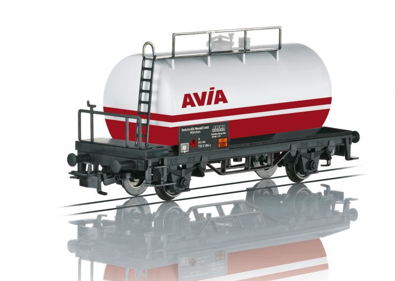 """Märklin 44404 Tankvagn """" German AVIA Petroleum Oil """" Nyhet 2021 Förboka ditt exemplar"""