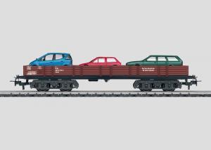 44732 Biltransportvagn med bilar DB