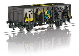 """Märklin 44826 Godsvagn """" Batman """" Freight Car Nyhet 2021 Förboka ditt exemplar"""