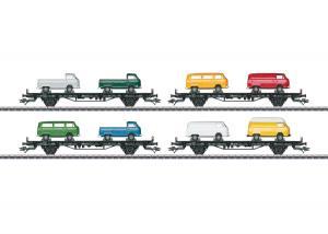 """Märklin 45082 Vagnset """"VW Type T2 Bus Transport"""""""