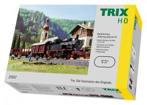 Trix 21532 Startset Ånglok (DR) class 74