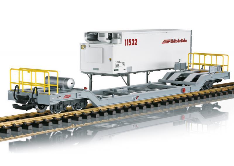 LGB 45926 RhB Containervagn Sommarnyhet 2021 Förboka ditt exemplar