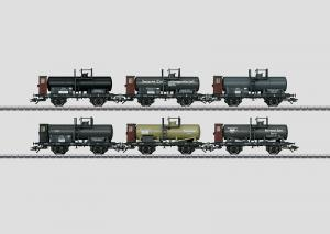 46084 Vagnsset med 6st tankvagnar Nyhet 2014