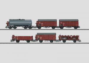 46094 Godsvagn set 6 vagnar DRB MHI special