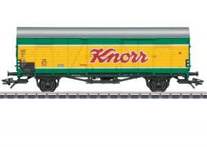 """Märklin 46167 Godsvagn (DB) type Glt 23 """"Dresden"""" """"Knorr"""" Nyhet 2020"""