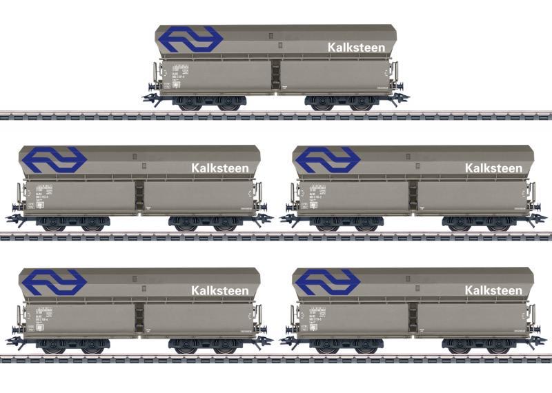 """Märklin 46268 Vagnset Dutch State Railways ( NS ) """" Kalksteen """" Nyhet 2021 Förboka ditt exemplar"""