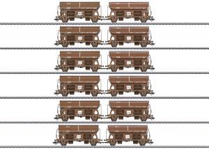 Märklin 46309 DSB Godsvagnset med 6st ihopsatta parvagnar type Tdgrrs Dansk Nyhet 2021 Förboka ditt exemplar