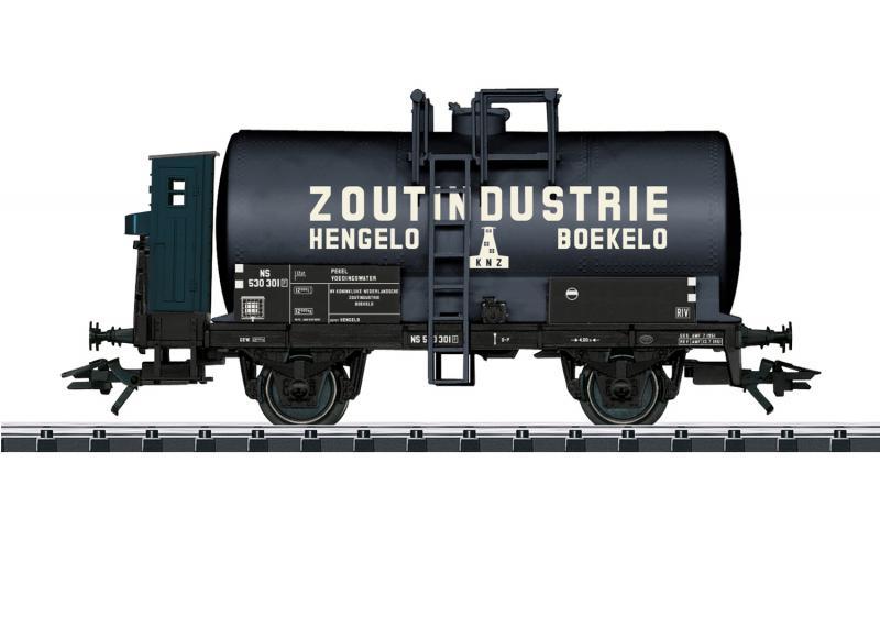 """Märklin 46432 Tankvagn Dutch Railways (NS) """" Zoutindustrie Hengelo Boekelo """" Nyhet 2021 Förboka ditt exemplar"""
