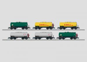 46528 Tankvagnset Shell, DEA ESSO 6 st vagnar DB