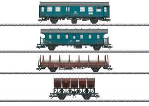 """Märklin 46690 Vagnset """"Construction Train"""" Nyhet 2020"""