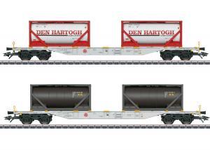 Märklin 47137 Containervagnset Type Sgns Sommarnyhet 2021 Förboka ditt exemplar