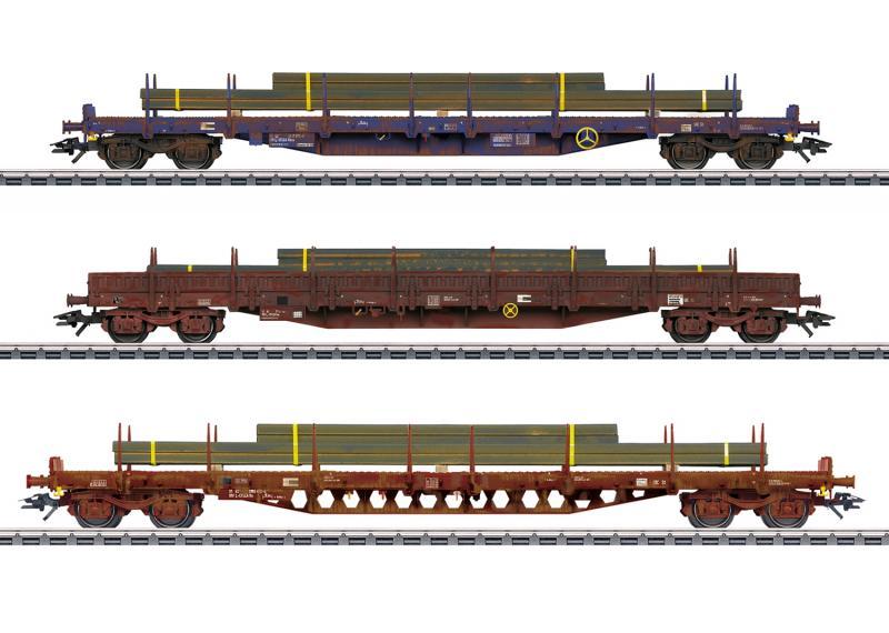 Märklin 47160 Vädrat stolpvagnset Luxembourg State Railways (CFL) Nyhet 2020 Förboka ditt exemplar