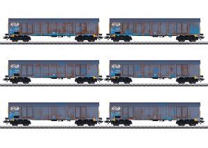 Märklin 47189 Godsvagnset Dutch Railways (NS) Cargo type Ealnos 201 Nyhet 2020 Förboka ditt exemplar