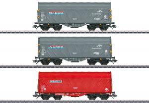"Märklin 47224 Godsvagnset type Shimmns "" NACCO "" Nyhet 2021"