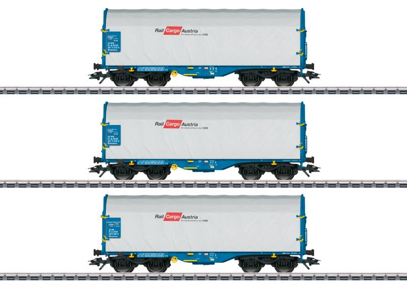Märklin 47225 Godsvagnset typ Shimmns Rail Cargo Wagon - Austria GmbH (RCW). Nyhet 2020 Förboka ditt exemplar