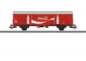 "Märklin 47366 Godsvagn (SJ) type Gbs ""Coca-Cola"""