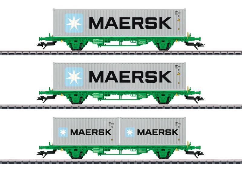 Märklin 47726 Maersk vagnset SJ Green Cargo Nyhet 2020 Förboka ditt exemplar