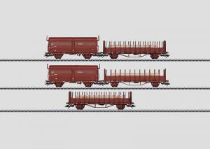 47733 Svenskt Godsvagnset 5 olika vagnar, SJ,  Nyhet 2014