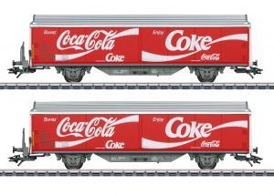 Märklin 48344 Godsvagnset type Hbils-vy Coca-Cola® Sommarnyhet 2021 Förboka ditt exemplar