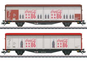 Märklin 48345 Godsvagnset type Hbbills 308 Coca-Cola® Sommarnyhet 2021 Förboka ditt exemplar