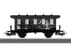 Märklin 48620 Passagerarvagn - Halloween Passenger Car - Glow in the Dark Nyhet 2020 Förboka ditt exemplar