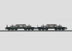 48664 Tunglastvagnset lastade med Stål DB