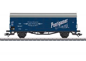 """Märklin 48939 Ölvagn """" Puntigamer """" Nyhet 2021 Förboka ditt exemplar"""