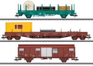 Märklin 49956 Vagnset med 3 godsvagnar ( SNCB ) Nyhet 2021