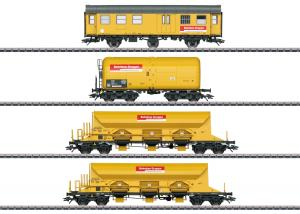 """Märklin 49969 Vagnset """"Track Laying Group"""" (DBG) Nyhet 2019"""