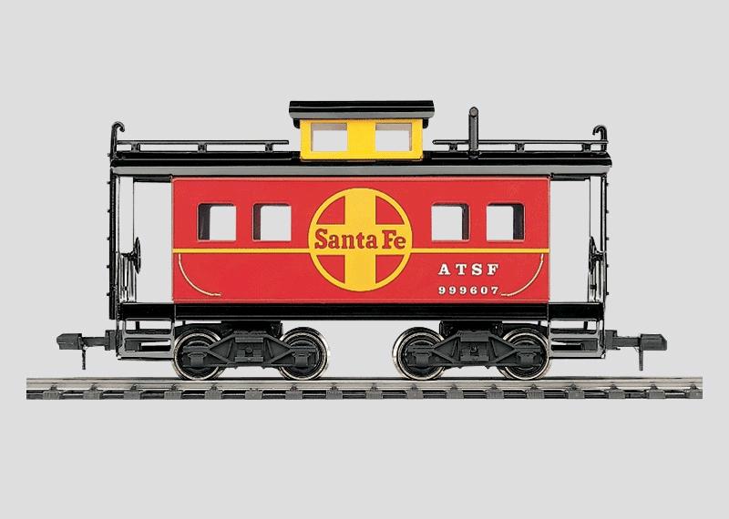 54861 Caboose Santa Fe vagn Maxi sortimentet