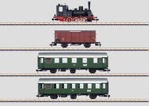 55026 Tågset BR 89.70-75 med 3 vagnar ljud DB