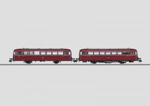 55099 Rälsbuss VT 98.9 DB och kontrollvagn klass VS 98.0
