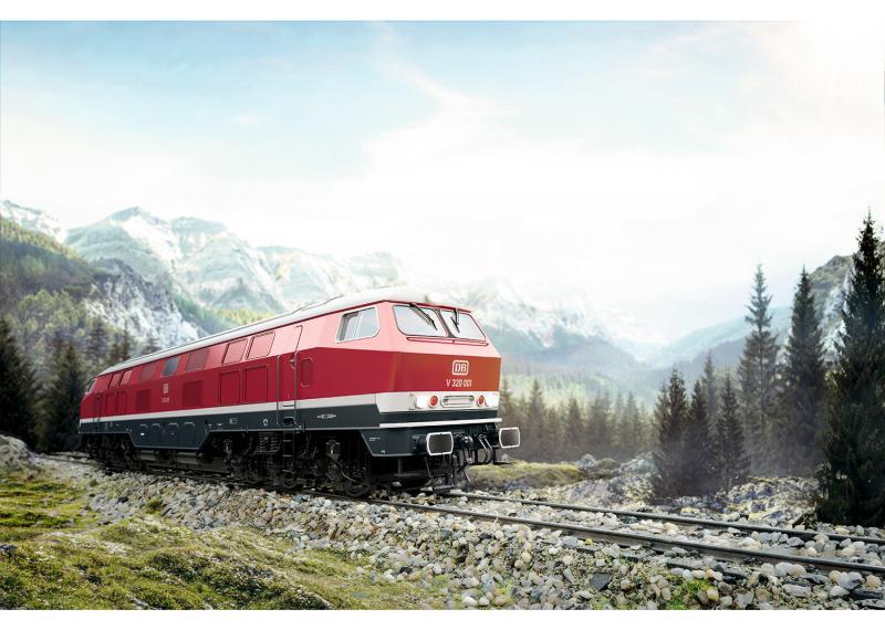 Märklin 55320 Diesellok DB Class V 320 Nyhet 2020 Förboka ditt exemplar