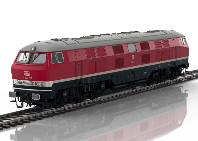 Märklin 55320 Diesellok DB Class V 320 Nyhet 2020