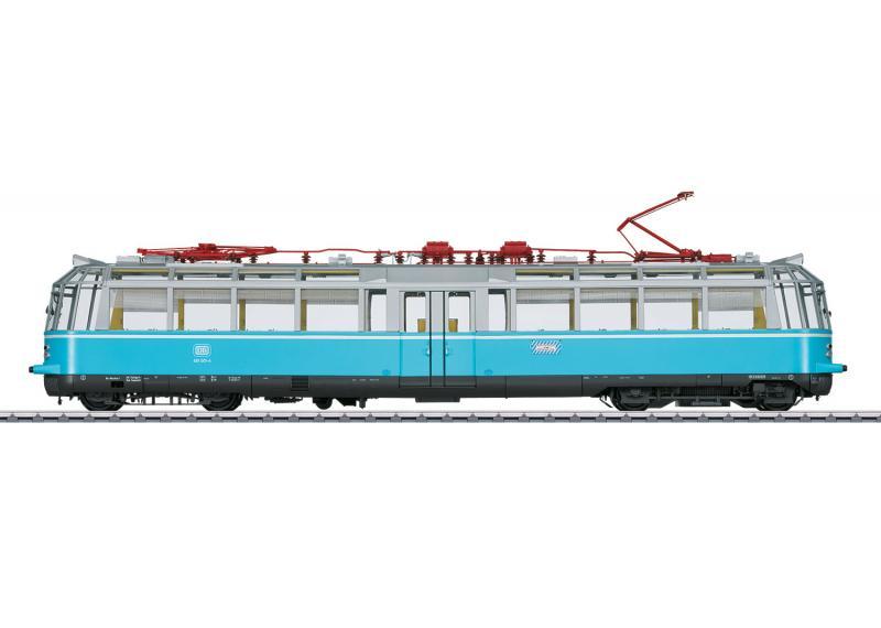 "Märklin 55918 Rälsbuss (DB) class 491 ""Glas Tåget"""