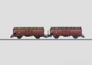 58228 Vagnsset 2st gondola vagnar Omm 52 typ DB Nyhet 2014 Boka!