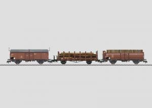 58229 Vagnset 3st olika godsvagnar Typ DB Nyhet 2014 Boka!