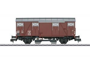 Märklin 58269 Rälsrengörningsvagn (DB) type Gmhs 52 boxcar