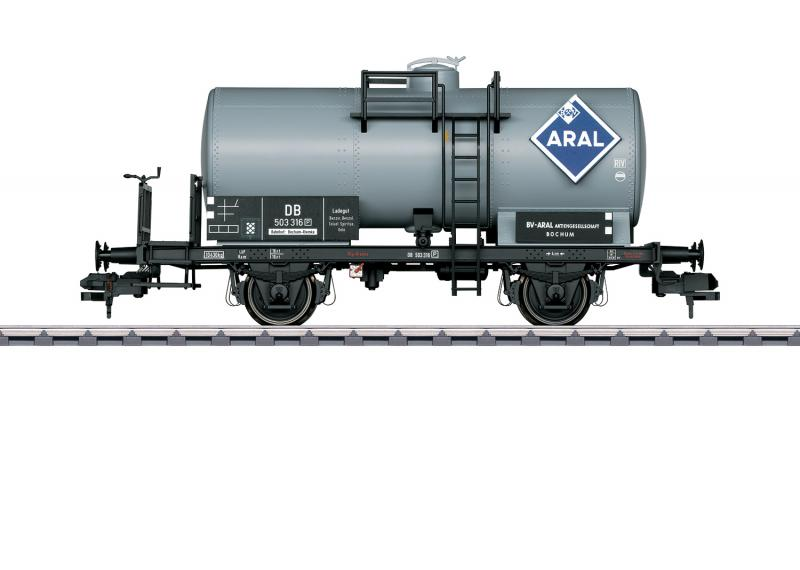 """Märklin 58392 Tankvagn """"ARAL"""" DB Nyhet 2020 Förboka ditt exemplar"""