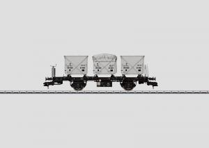 58471 Flakvagn med 3 containers Nyhet 2013